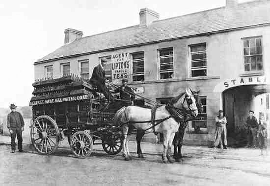 Deliveries in the early 1900's