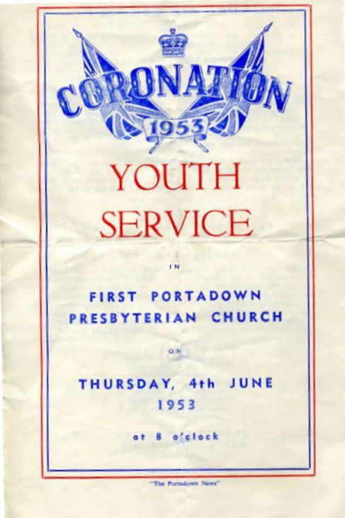 Youth Service - 1953 Coronation