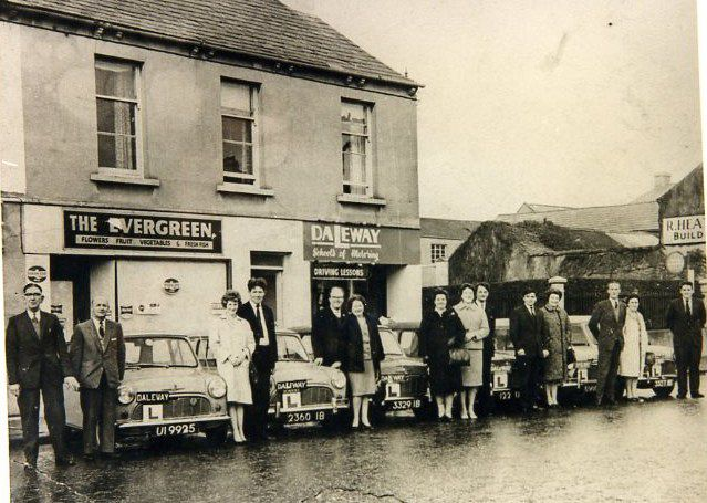 Fleet Daleway cars outside office in Edenderry