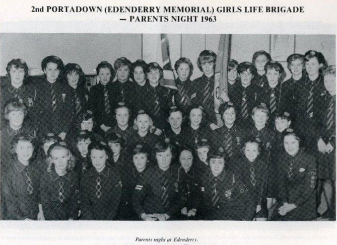 Edenderry Memorial Girls Life Brigade Parents Night 1963