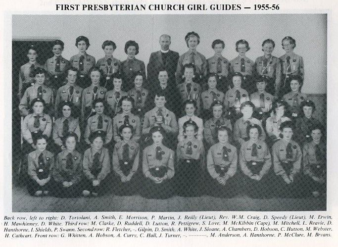 Church Girls Guides - 1955 - 56