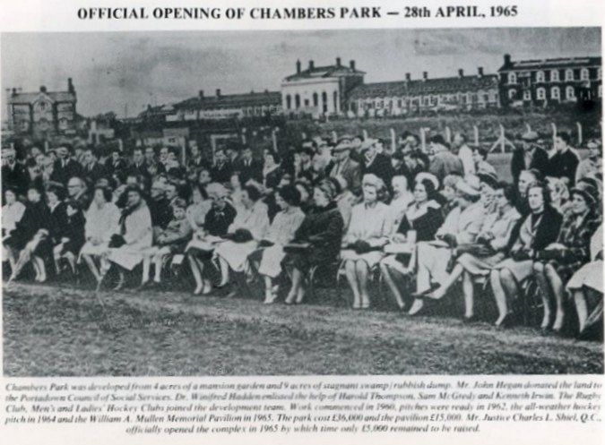 Official Opening of Chambers Park