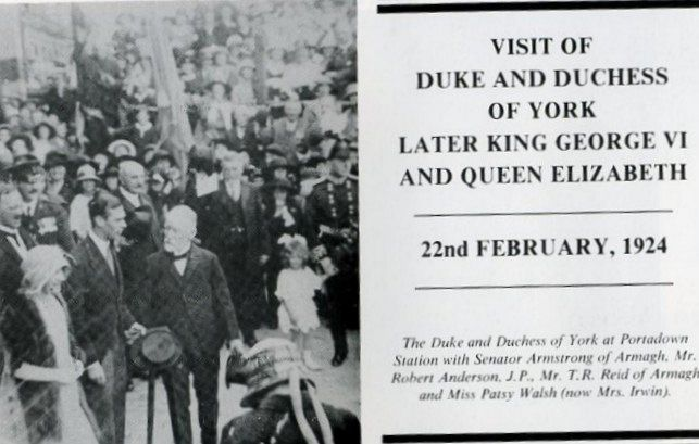 VISIT OF DUKE & DUCHESS OF YORK